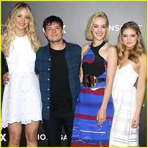Jennifer Lawrence & Josh Hutcherson Meet Up with Other 'Hunger Games' Co-Stars!