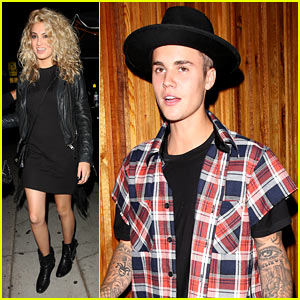 Justin Bieber Celebrates with Tori Kelly at Her Album Release Party!