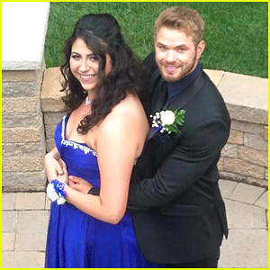 Kellan Lutz Took High School Senior Brianna Siciliano to Her Prom!