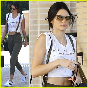 Kendall Jenner Is a Barneys Babe
