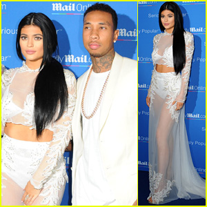 Kylie Jenner Brings Boyfriend Tyga to Cannes Party With Sister Kim Kardashian