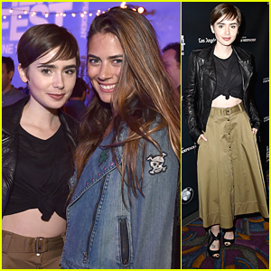Lily Collins Closes LA Film Festival 2015 With 'Fast Times At Ridgemont High' Live Read