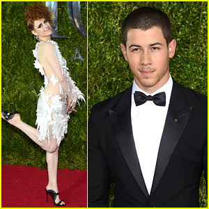 Nick Jonas Is a Total Tonys Stud!