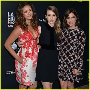 Nina Dobrev & Taissa Farmiga Keep It Cute at 'The Final Girls' Premiere at LA Film Festival
