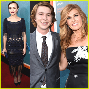 Thomas Mann & Olivia Cooke Premiere 'Me & Earl & The Dying Girl' In Los Angeles