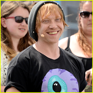 Rupert Grint Feels The Need For Speed at Goodwood Festival
