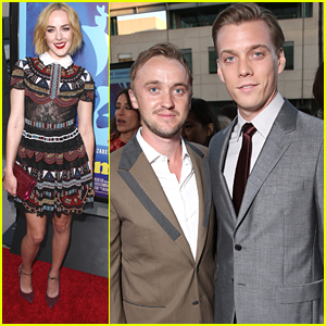 Tom Felton Supports Jake Abel At 'Love & Mercy' Hollywood Premiere