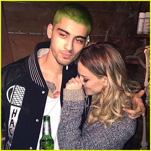 Zayn Malik Dyed His Hair Green!