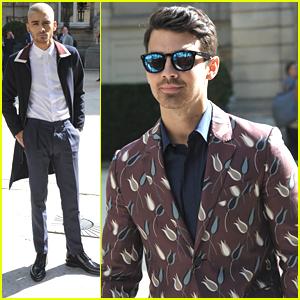 Zayn Malik Hits Valentino Fashion Show with Joe Jonas