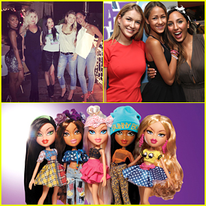 Janel Parrish, Nathalia Ramos, Skyler Shaye, & Logan Browning Hold 'Bratz' Reunite For New Doll Launch!