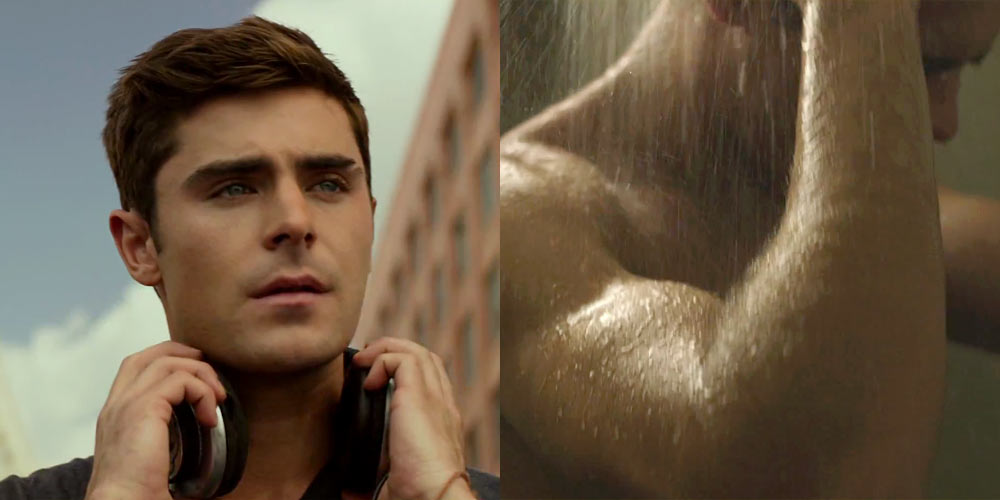 Zac Efron Naked Shower Scene 54