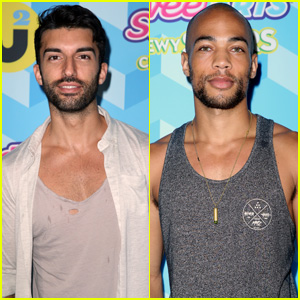 Justin Baldoni & Kendrick Sampson Hit Up the JJ Summer Bash Presented by SweeTARTS Chewy Sours