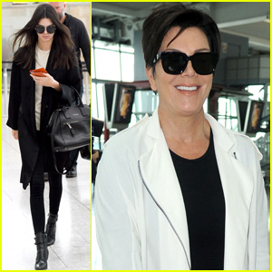 Kendall Jenner Struts Her Stuff at Heathrow Airport
