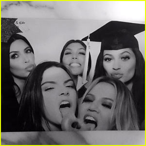 Kendall & Kylie Jenner Celebrate High School Graduations Together!