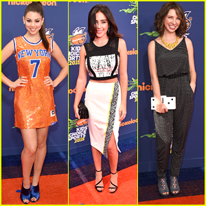 Kira Kosarin Matches The Orange Carpet at Nickelodeon's Kids' Choice Sports 2015!