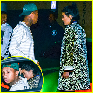 Kylie Jenner & Tyga Do Dinner After Her Instagram Feud with Amandla Stenberg
