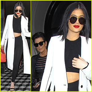 Kylie Jenner Grabs Dinner After Tyga Cheating Controversy