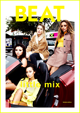 Little Mix Dream Up Collaboration With Spice Girls In 'Beat' Mag