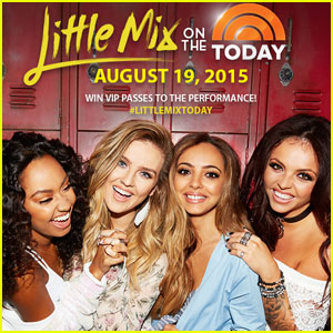 Win VIP Passes to Little Mix on 'The Today Show'!