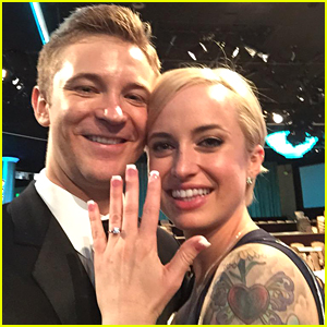 Michael Welch Proposes To Girlfriend Sam Maggio At Thirst Gala 2015!