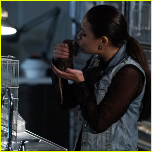 Mona Kisses a Rat on Tonight's 'Pretty Little Liars'