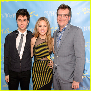 Halston Sage & Nat Wolff 'Get Lost Get Found' For Paper Towns Tour in Indianapolis