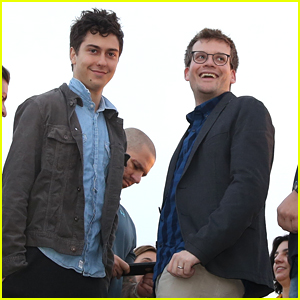 Nat Wolff & John Green Visit Christ The Redeemer Statue During 'Paper Towns' Press Tour in Brazil