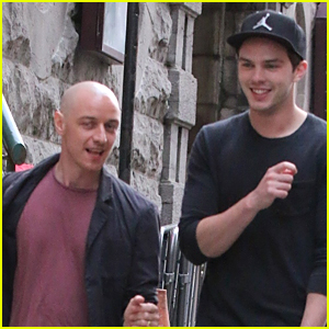 Nicholas Hoult & James McAvoy Enjoy Day Off From 'X-Men: Apocalypse'