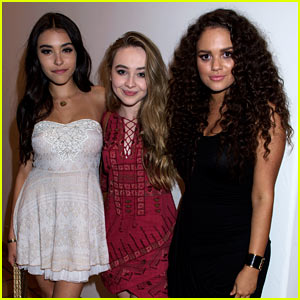 Sabrina Carpenter, Madison Pettis, & Madison Beer Are JustFab at Just Jared's Malibu Dinner!