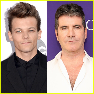 Louis Tomlinson Spoke to Simon Cowell About Becoming a First Time Dad