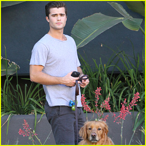 Spencer Boldman Gets Ready for Filming Final Episodes of 'Lab Rats'