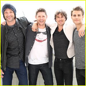 'Supernatural' Stars Hit Up Comic-Con 2015 - See the Cast Photos!