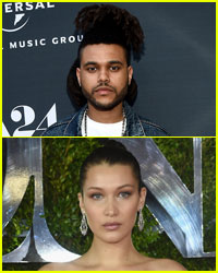 The Weeknd Avoids Questions About Rumored Girlfriend Bella Hadid
