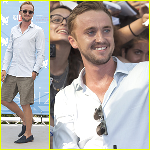 Tom Felton Receives Experience Award at Giffoni Film Festival