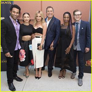 Ashley Tisdale & Monique Coleman Support Kenny Ortega At 'Descendants' Premiere