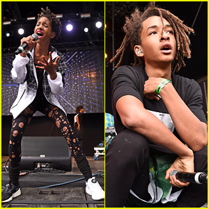 Willow & Jaden Smith Perform at the Wireless Festival Together!