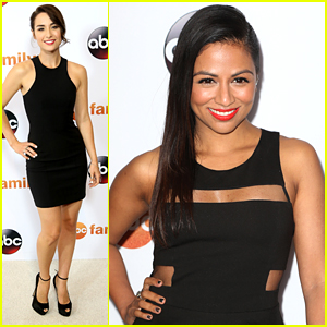 Allison Scagliotti Parties With 'How To Get Away With Murder' Men at ABC's TCA Party