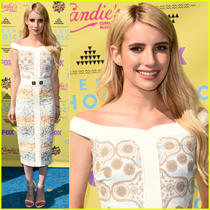 Emma Roberts Arrives in Style for Teen Choice Awards 2015!