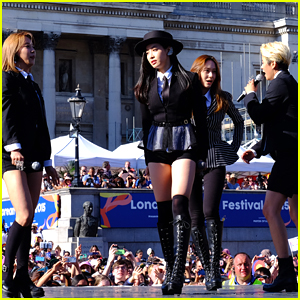 K-Pop Band F(x) Make Debut As Foursome In London