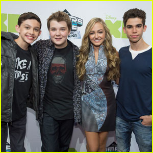 Cameron Boyce & 'Gamer's Guide' Cast Hit D23 Expo 2015 Together!