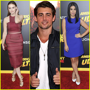 Holland Roden & Chrissie Fit Hit The 'American Ultra' Premiere