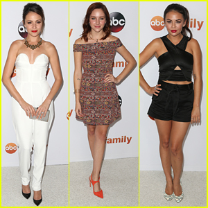 Italia Ricci & Haley Ramm Hit ABC's TCA Party After Newest 'Chasing Life' Episode