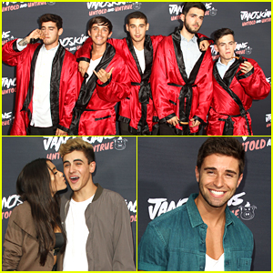 Janoskians Get Tons Of Celeb Support At 'Untold & Untrue' Premiere