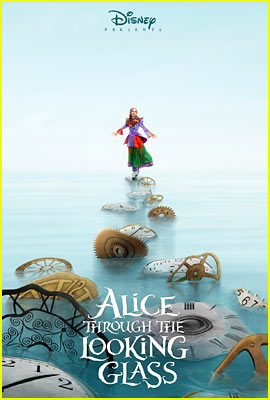 'Alice Through the Looking Glass' Posters Are Here!