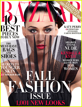 Katy Perry Is a 'Harper's Bazaar' Icon for 2015!