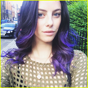 Kaya Scodelario Has Purple Hair -- See Her New Hair Color Here!