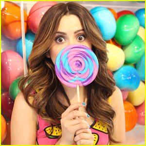 Laura Marano Enjoys 'Sweet' Day Out With Tiger Beat Mag