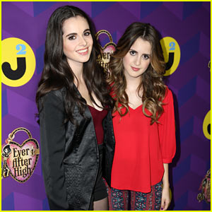 Vanessa & Laura Marano Make It to 'Wonderland' at Just Jared's Party Presen