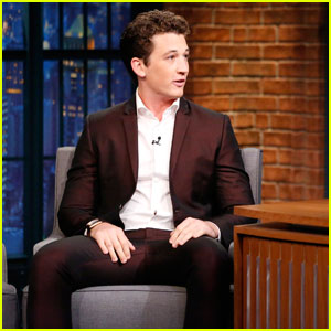 Miles Teller Reveals Airport Perk of Being Mr. Fantastic on 'Seth Meyers' - Watch Now!