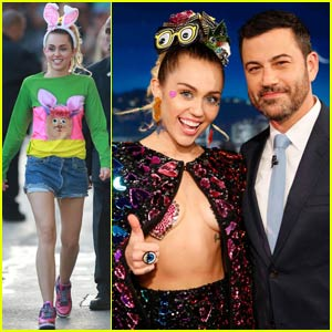 Miley Cyrus Dresses in a Disguise & Tricks People on the Street - Watch Now!